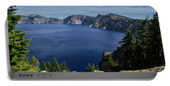 Portable Battery Charger featuring the photograph Crater Lake View by Frank Wilson