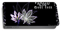 Crazy About Mary Jane Portable Battery Charger
