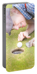 Crazy Golfer Portable Battery Charger