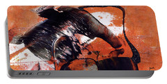Crazy Mouse - Modern Abstract Art Painting Portable Battery Charger