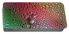 Crazy World Of Bubbles Portable Battery Charger by Jaroslaw Blaminsky