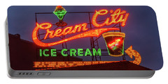 Cream City Sign Portable Battery Charger