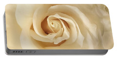 Creamy Rose Portable Battery Charger