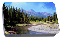 Portable Battery Charger featuring the photograph Creek In The Beartooths by Marty Koch