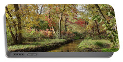 Creek In The Woods Portable Battery Charger