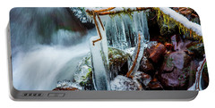 Creekside Icicles Portable Battery Charger