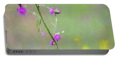 Creeping Thistle Portable Battery Charger