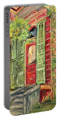 Creole Painted Lady In The Marigny Portable Battery Charger