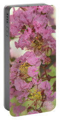 Crepe Myrtle And Bee Portable Battery Charger