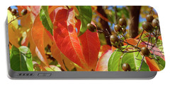 Crepe Myrtle Autumn Color Portable Battery Charger