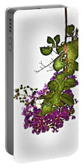 Crepe Myrtle In Oil Portable Battery Charger