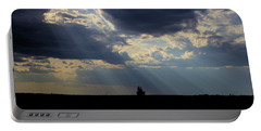 Crepuscular Rays Portable Battery Charger