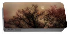 Crescent Between The Trees Portable Battery Charger