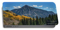 Crested Butte Mountain Portable Battery Charger