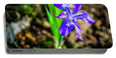 Crested Dwarf Iris Portable Battery Charger