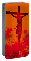 Cricifixion.1 Portable Battery Charger