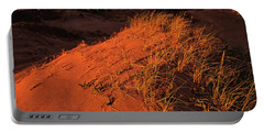Portable Battery Charger featuring the photograph Crimson Dunes by Doug Gibbons