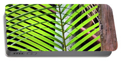 Crisscrossing Palms Portable Battery Charger