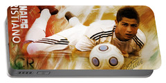 Cristiano Ronaldo 092f Portable Battery Charger by Gull G