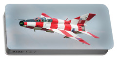 Croatian Air Force Mig-21ub Portable Battery Charger