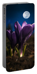 Crocus Moon Portable Battery Charger