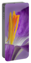 Crocus Stamens  Portable Battery Charger
