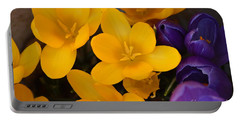 Crocus Tommasinianus Portable Battery Charger