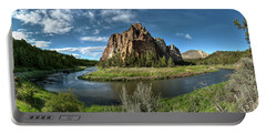 Crooked River And Smith Rock Portable Battery Charger