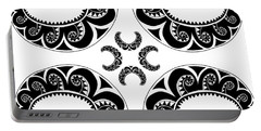 Cross Maori Style Portable Battery Charger