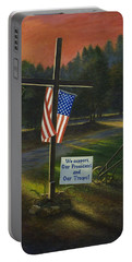 Cross Of Remembrance Portable Battery Charger