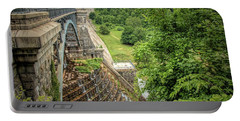 Portable Battery Charger featuring the photograph Croton Dam New York by Kristia Adams