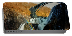 Croton Dam Rainbow Spray Portable Battery Charger