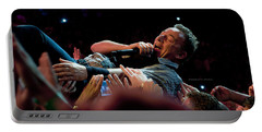 Crowd Surfing Portable Battery Charger