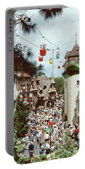 Portable Battery Charger featuring the photograph Crowded by John Schneider