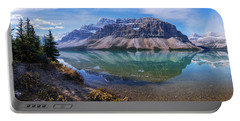 Portable Battery Charger featuring the photograph Crowfoot Reflection by Chad Dutson