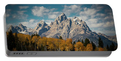 Crown For Tetons Portable Battery Charger by Edgars Erglis