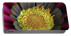 Portable Battery Charger featuring the photograph Crown Of Pollen by David and Carol Kelly