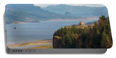 Crown Point On Columbia River Gorge Portable Battery Charger