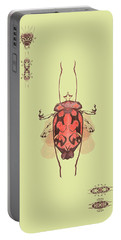 Crowned Horn Bug Specimen Portable Battery Charger
