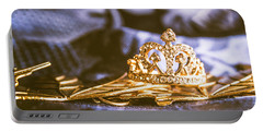 Crowned Tiara Jewellery Portable Battery Charger