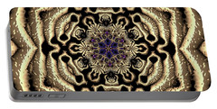 Portable Battery Charger featuring the digital art Crystal 613455 by Robert Thalmeier