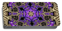 Portable Battery Charger featuring the digital art Crystal 6138 by Robert Thalmeier