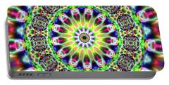 Portable Battery Charger featuring the digital art Crystal Ahau 6575489087 by Robert Thalmeier