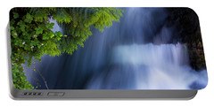Crystal Creek Waterfalls Portable Battery Charger