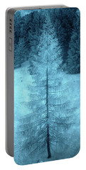 Crystal Larch Portable Battery Charger by AugenWerk Susann Serfezi