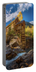 Crystal Mill Morning Portable Battery Charger by Darren White