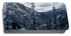 Crystal Mountain Dawn Portable Battery Charger