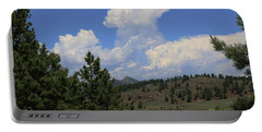 Portable Battery Charger featuring the photograph Crystal Peak Colorado by Jeanette French