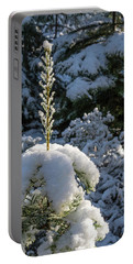 Portable Battery Charger featuring the photograph Crystal Tree by Jan Davies