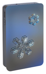 Portable Battery Charger featuring the photograph Crystals Of Day by Alexey Kljatov